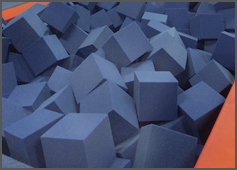 Blue Foam Blocks